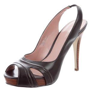 Calvin Klein Paulina Peep Toe Heels